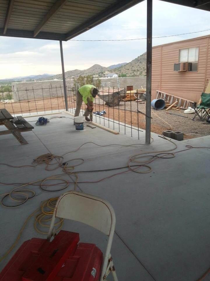 Olson Concrete Structures and Desert Ready Mix help with New Gratitude Corner - (1)