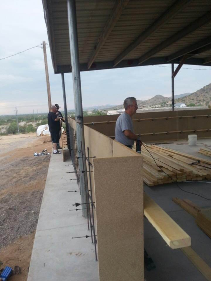 Olson Concrete Structures and Desert Ready Mix help with New Gratitude Corner - (4)