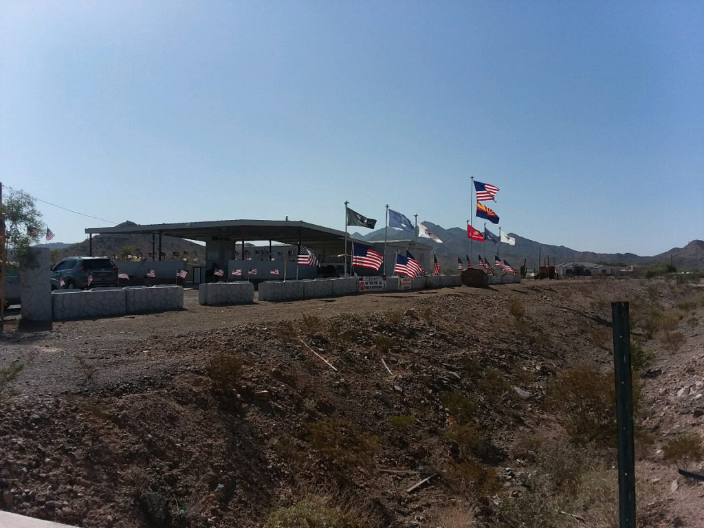 Flags donated by Home Depot 3
