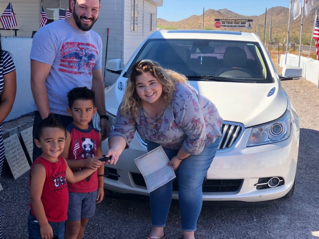 July 4th Car Giveaway for Fallen Veteran's Daughter