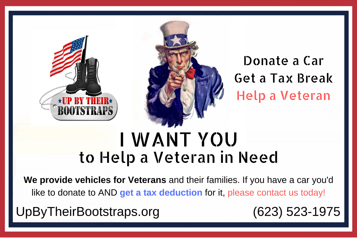 I WANT YOU to Help a Veteran in Need